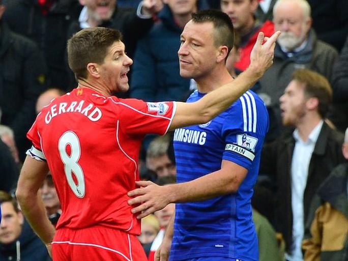 Gerrard một lần nữa thất thế trước Terry