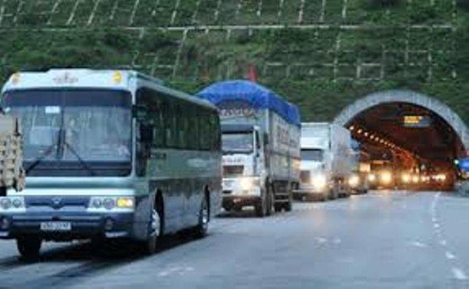 Hầm đường bộ Hải Vân sẽ giảm kẹt xe