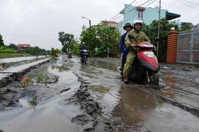 Ngập lụt chưa từng thấy ở Quảng Ninh