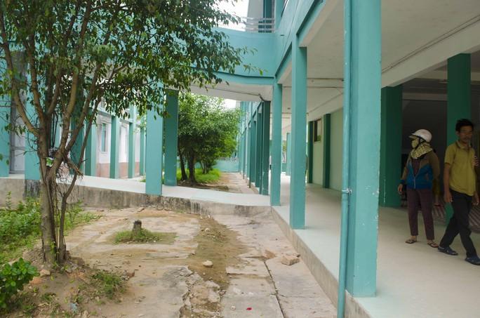 Khu vực ông Bộ nhảy lầu tự vẫn trong Bệnh viện Đa khoa Quảng Nam