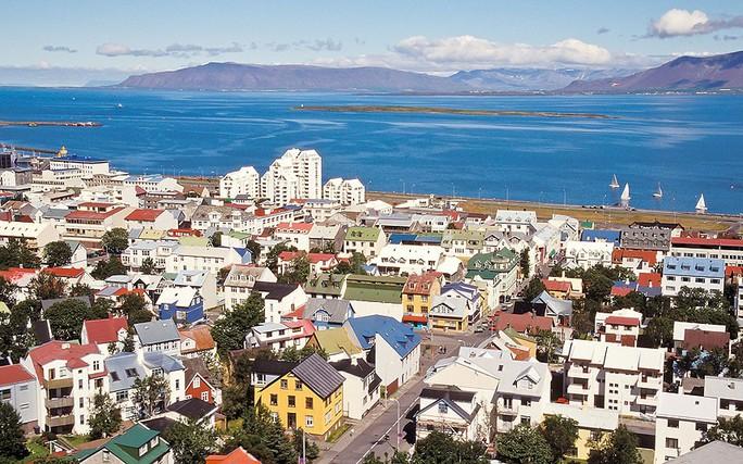 Hạng nhì là Iceland. Đảo quốc này còn được xếp hạng là đất nước yên bình nhất thế giới theo Chỉ số Hòa bình toàn cầu. Ảnh: Telegraph