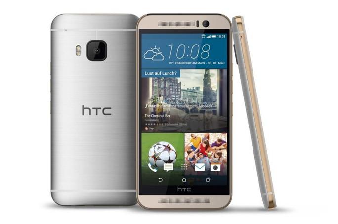 HTC One M9 trình làng, lên kệ giữa tháng 3