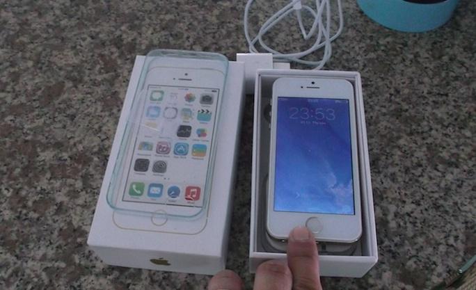 Chiếc iphone Trung Quốc bị đánh tráo
