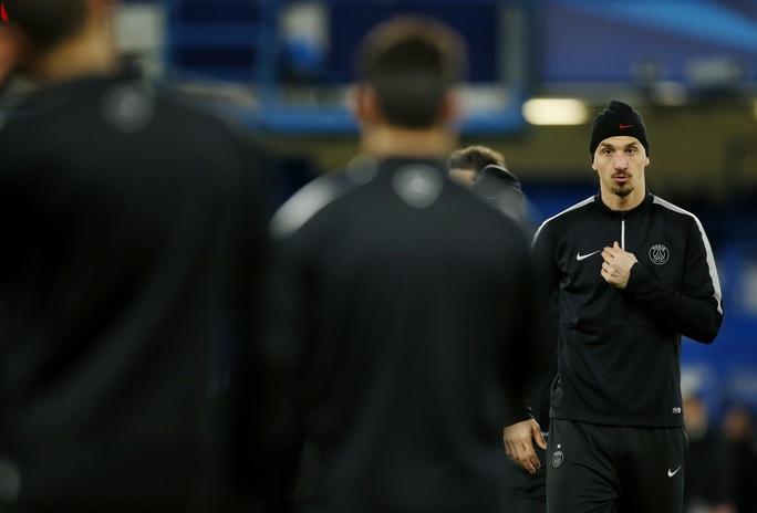 Ibrahimovic và đồng đội tích cực tập luyện cho trận tái đấu Chelsea