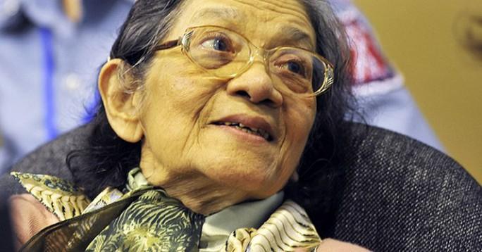 Ieng Thirith, ảnh chụp năm 2011. Nguồn: AP