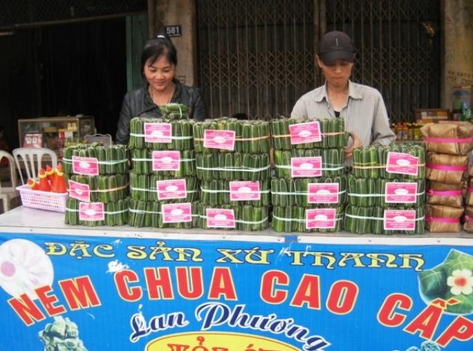Nem chua - đặc sản của xứ Thanh