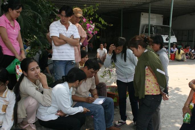Công nhân một doanh nghiệp tại TP HCM hoang mang khi doanh nghiệp bỏ trốn