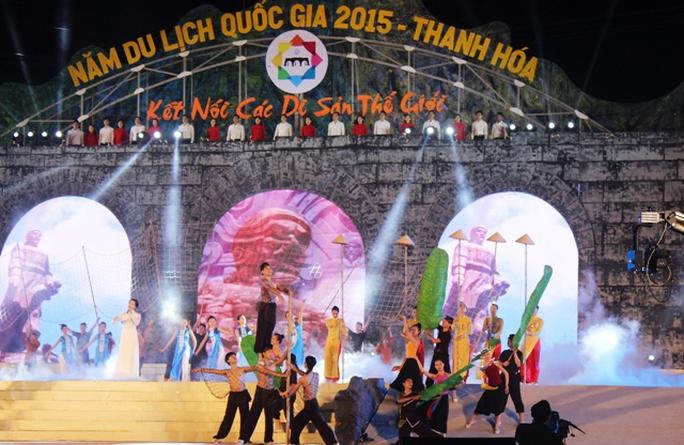 Năm du lịch Quốc gia 2015 đã chính thức khai mạc tại Thanh Hóa