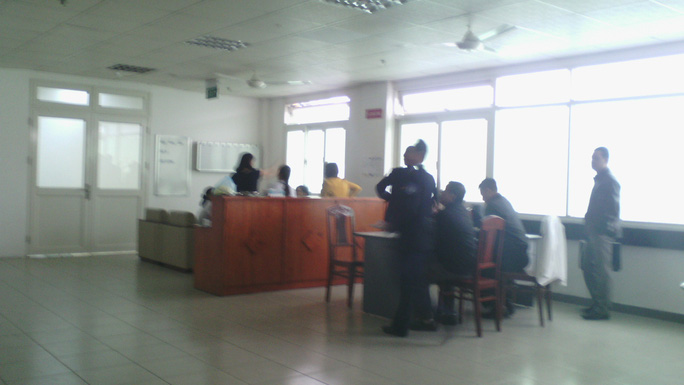 Phòng bệnh sẽ điều trị cho ông Nguyễn Bá Thanh có đông người tập trung trong sáng 9-1