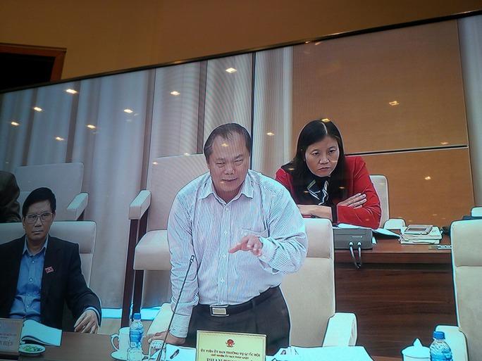 """Chủ nhiệm Uỷ ban Pháp luật của Quốc hội Phan Trung Lý đề nghị: Báo cáo Chính phủ cần đưa ra biện pháp đối với tiêu thụ nông sản""""."""