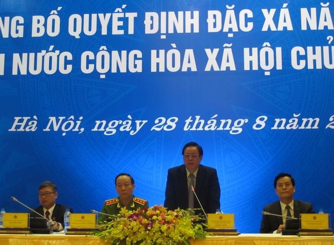 Anh em ông Đoàn Văn Vươn cùng 18.537 người được đặc xá dịp 2-9