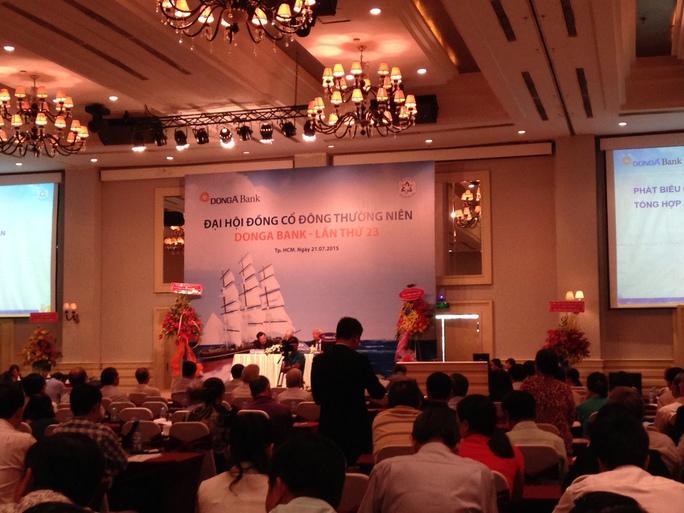 Ông Cao Sỹ Kiêm từ chức Chủ tịch HĐQT DongA Bank tại kỳ họp đại hội cổ đông của ngân hàng này vào sáng 21-7