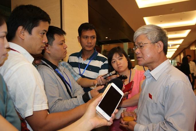 Ông Nguyễn Anh Sơn trả lời báo chí về tình hình biển Đông