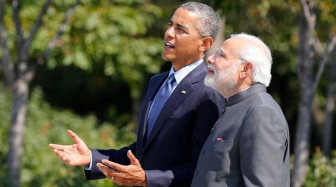 Tổng thống Obama công du Ấn Độ từ ngày 25-1 đến ngày 27-1. Ảnh: REUTERS
