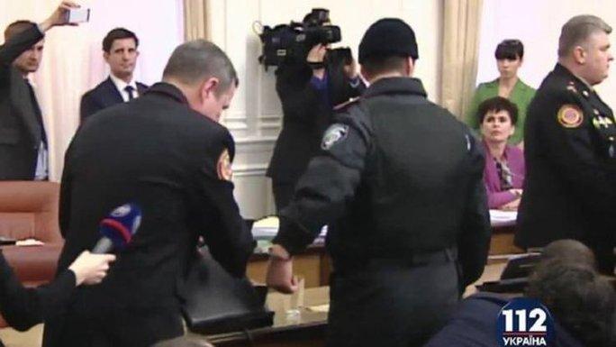 Grab from Ukrainian 112 TV