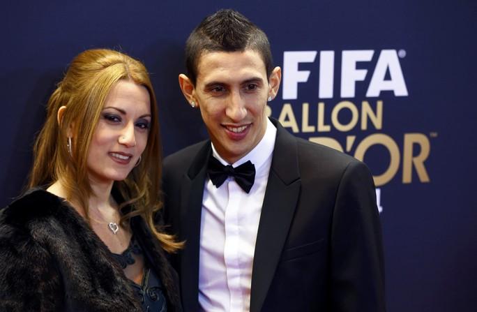 Vợ chồng Di Maria, cầu thủ góp mặt trong Đội hình tiêu biểu FIFA 2014