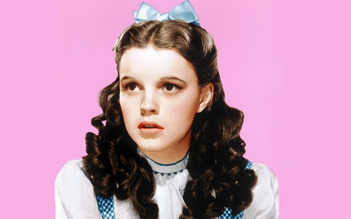 Judy Garland trong phim The wizard of Oz