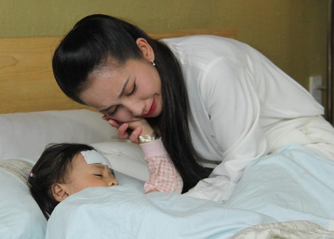 Kim Hiền trong phim Góc khuất số phận - một vai diễn đang được khán giả yêu thích
