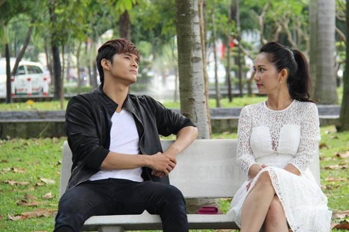 Kim Hiền và Lâm Vinh Hải trong phim