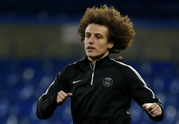 David Luiz sẽ gặp lại đội bóng cũ Chelsea