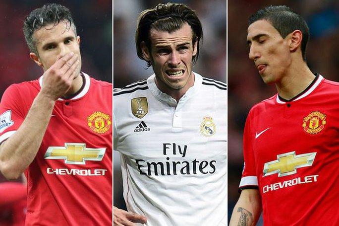 Để có Bale, M.U buộc phải bán Van Persie và Di Maria?