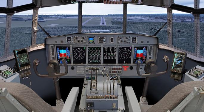 Giải pháp máy bay thương mại không phi công gặp nhiều rào cản  Ảnh: Esterline