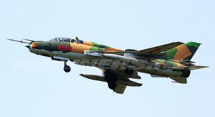 Một chiếc máy bay SU-22. Ảnh minh hoạ