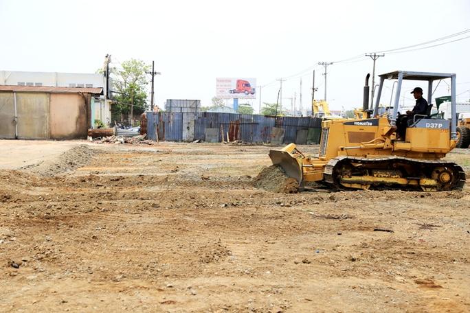Mặt bằng công ty Vĩnh Phát đã thông thoáng để giao nhà thầu thi công tuyến metro