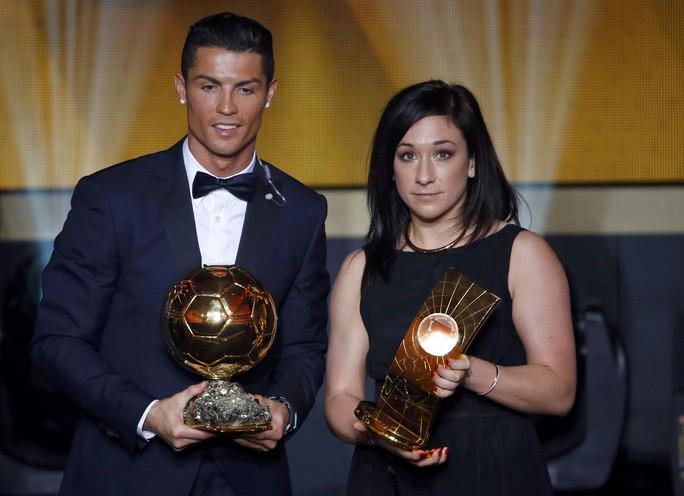 Nadine Kessler và Ronaldo