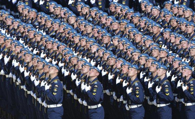 Binh lính Nga. Ảnh: Reuters