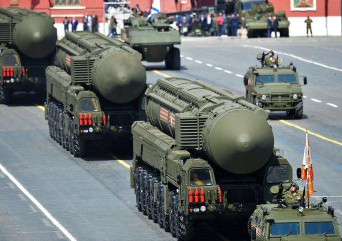 Tên lửa đạn đạo RS-24 Yars. Ảnh: Sputnik