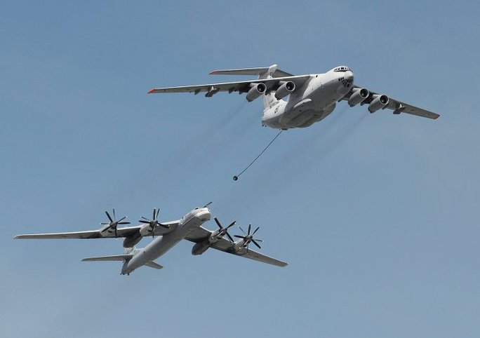 Máy bay ném bom Tu-95 MS. Ảnh: Sputnik