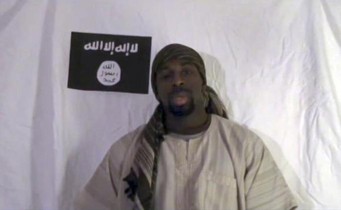 Tên khủng bố Amedy Coulibaly. Ảnh tư liệu Reuters