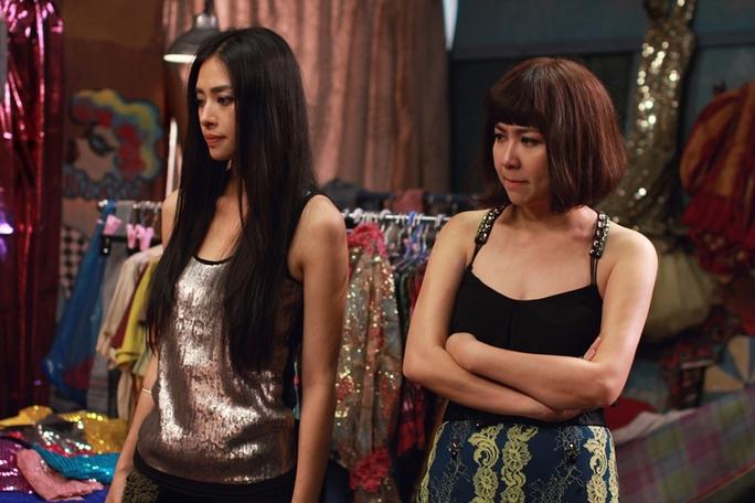 Lê Khánh và Ngô Thanh Vân trong phim