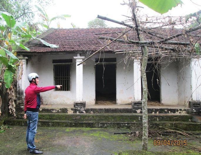 Người dân bỏ xứ đi làm ăn xa, bỏ lại căn nhà hoang ở Thanh Hóa Ảnh: TUẤN MINH