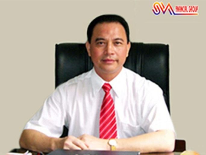 Chủ tịch HĐQT kiêm Tổng Giám đốc Công ty SVA Nguyễn Minh Sơn khi chưa bị bắt