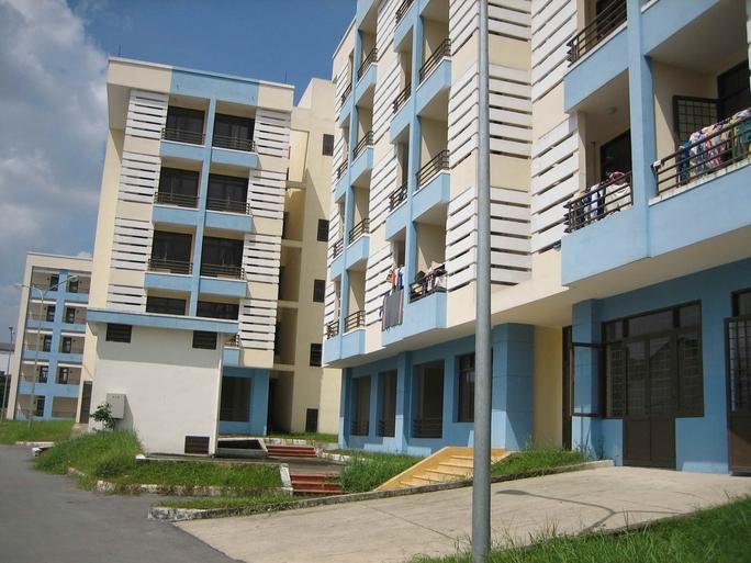 Một dự án nhà ở xã hội tại TP HCM