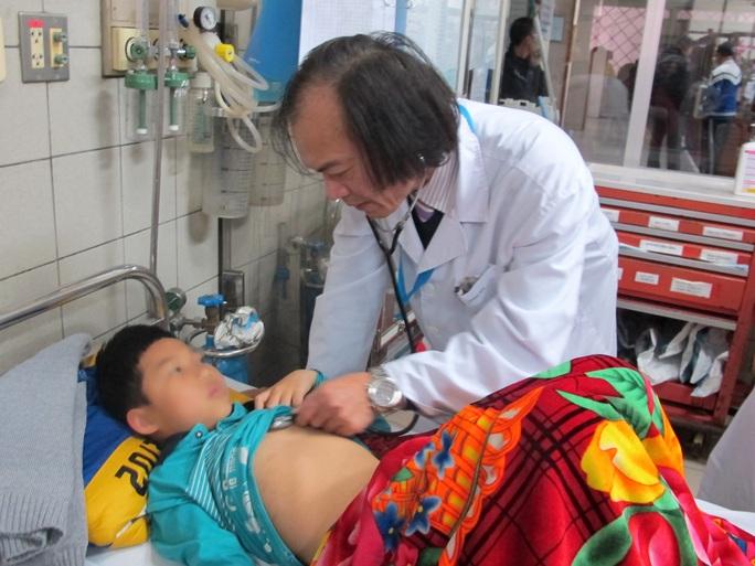 Nhiều bệnh nhân phải nhập viện dịp Tết nguyên đán