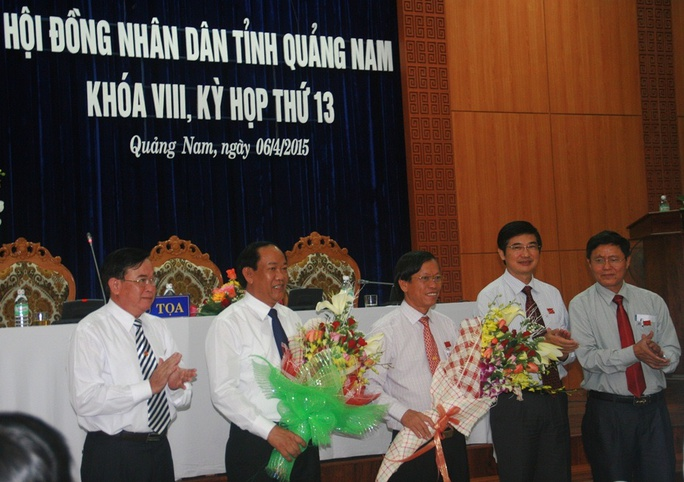 Ông Đinh Văn Thu làm chủ tịch tỉnh Quảng Nam