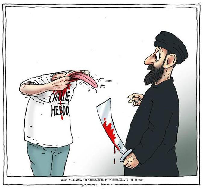 """""""Không thể cản được Charlie Hebdo"""""""