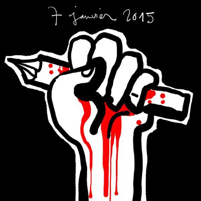 Vụ xả súng ở Pháp: Sự đáp trả của các họa sĩ biếm