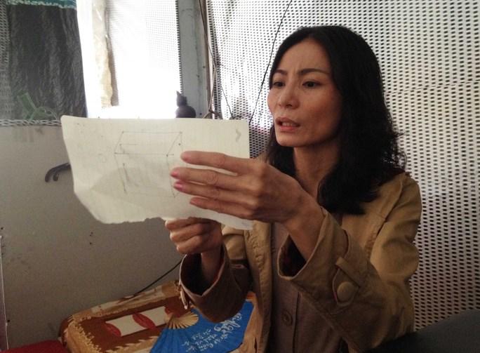 Bà Phạm Thị Ngọt đang tìm bằng chứng để minh oan cho mìnhẢnh: Lê Phong