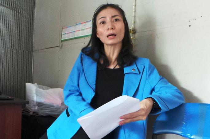Bà Phạm Thị Ngọt, người bị công an bác đơn cho biết, sẽ không theo đuôi tiếp vụ việc.
