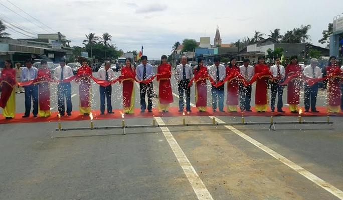 Thông xe dự án mở rộng Quốc lộ 1 qua Bình Thuận