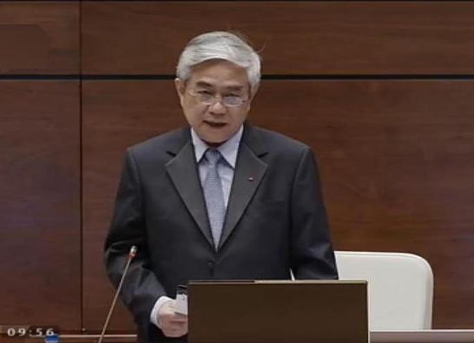Bộ trưởng Nguyễn Quân cho biết hàng năm ngân sách nhà nước chi cho nghiên cứu khoa học công nghệ khoảng 3.000 tỉ đồng.