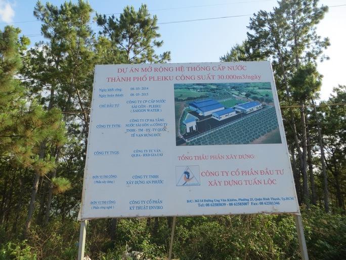 Phối cảnh Dự án mở rộng hệ thống cấp nước TP Pleiku