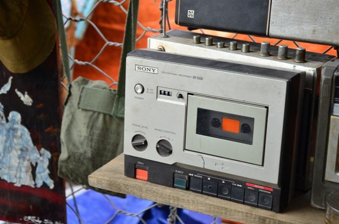 Chiếc máy nghe băng hiệu Sony từ những năm 1970