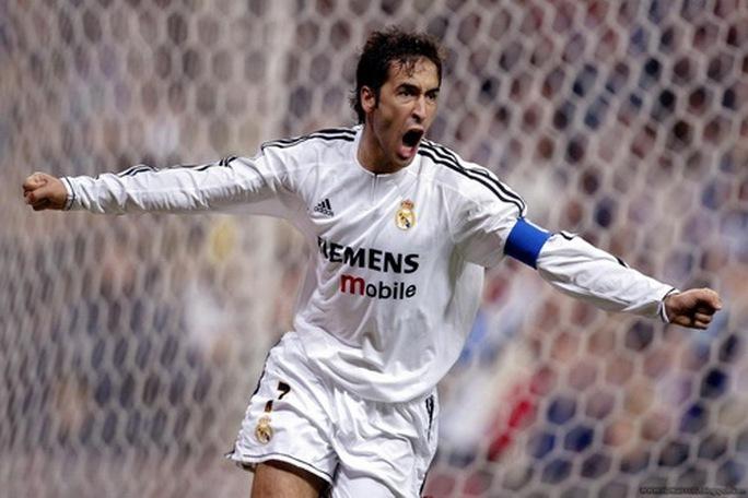 Tên tuổi Raul Gonzalez đi vào quá khứ ở Bernabeu