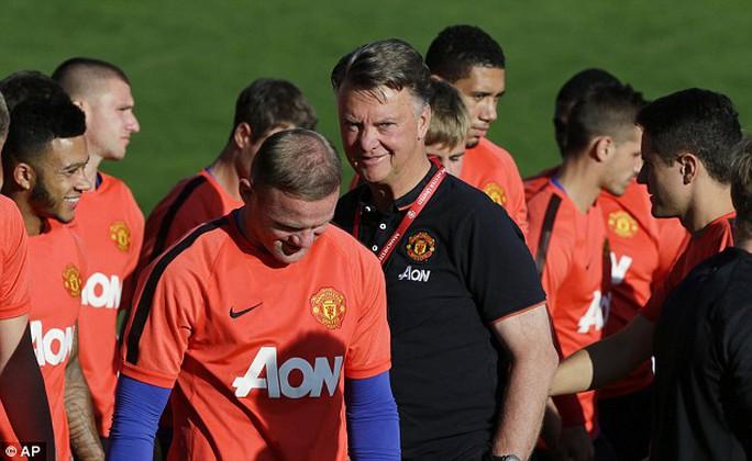 HLV Van Gaal chi cần mỗi Rooney trên hàng công