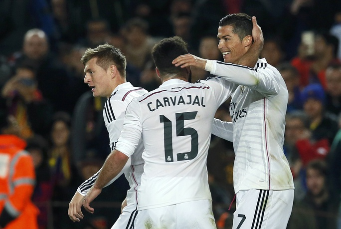 Ghi bàn gỡ hòa cho Real nhưng Ronaldo lại phung phí quá nhiều cơ hội khác